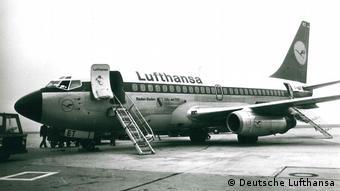 Boeing 737-100 Baden-Baden авиакомпании Lufthansa