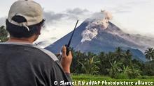 Indonesien Sleman | Vulkan | Mount Merapi