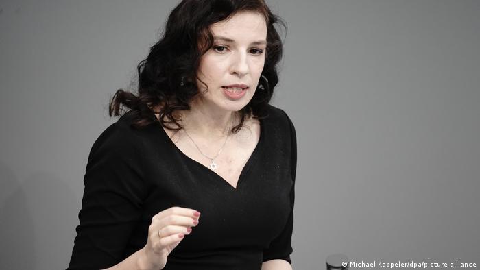 Deutschland 25 Jahre Holocaust-Gedenken im Bundestag | Marina Weisband