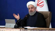 Iran Hassan Ruhani Kabinettssitzung in Teheran