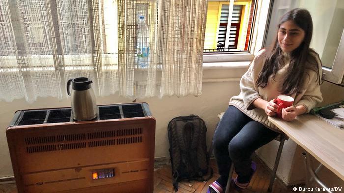 Mimar Sinan Üniversitesi öğrencisi Lizge Biter