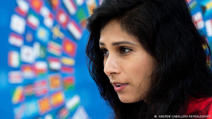 IWF Report Chef-Ökonomin Gita Gopinath