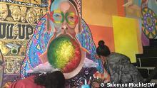 Äthiopien Addis Ababa   Goethe Kunst Klub   Künstler