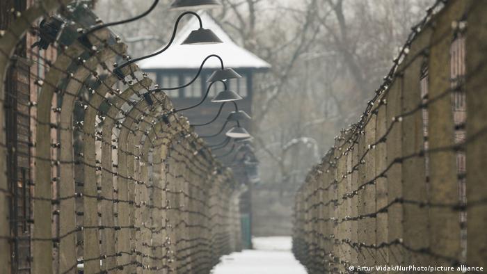 Campo de concentración alemán nazi de Auschwitz.