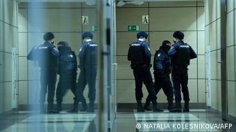 Сотрудники полиции пришли с обыском в офис ФБК (фото из архива)
