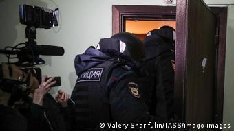 Έρευνα στην ιδιωτική κατοικία του Ναβάλνι στη Μόσχα τον Ιανουάριο