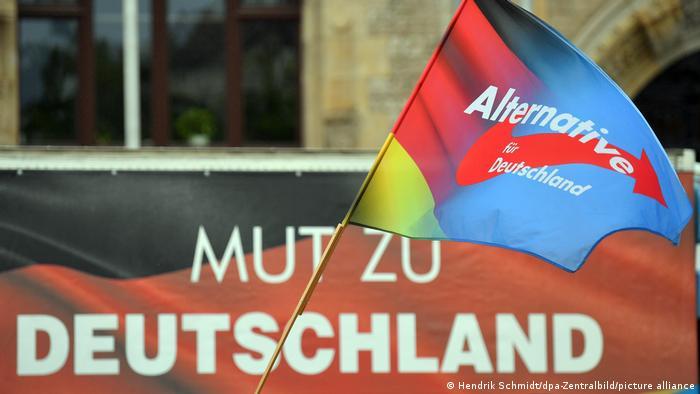 Le courage d'opter pour l'Allemagne, un slogan de l'AfD