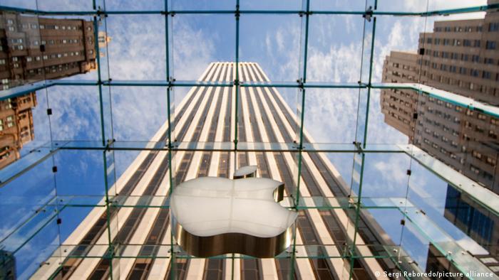 New York I Eingang Apple Store