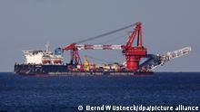 Deutschland Rügen Gas-Pipeline Nord Stream 2