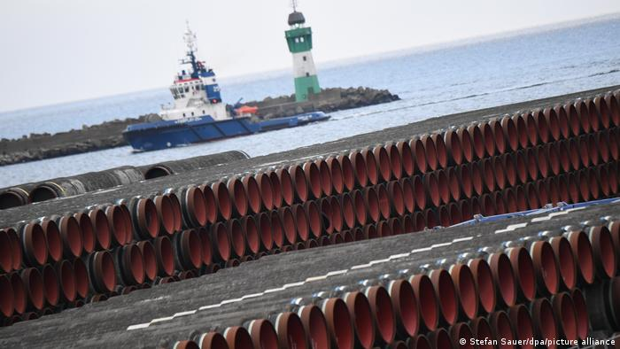 Pipelines ready to be laid for Nord Stream 2