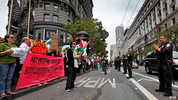 Proteste Gaza Israel USA San Francisco Flash-Galerie