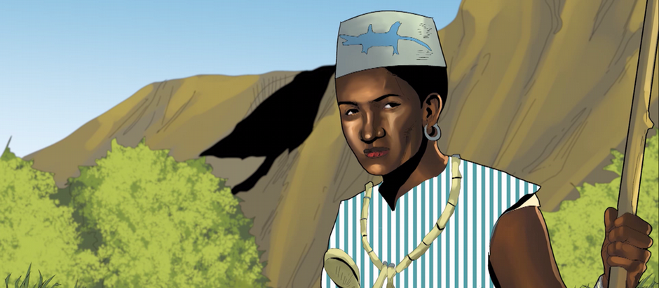 African Roots   Dahomey-Amazonen   Porträt