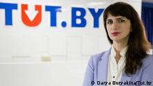 Belarus Journalistin Katsiaryna Barysevich