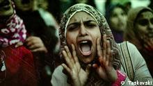 ****Nur zur abgesprochenen Berichterstattung***** DW Dokus KW 4 l Tage des Zorns - Ägyptische Frauen und die Arabellion Teil 2