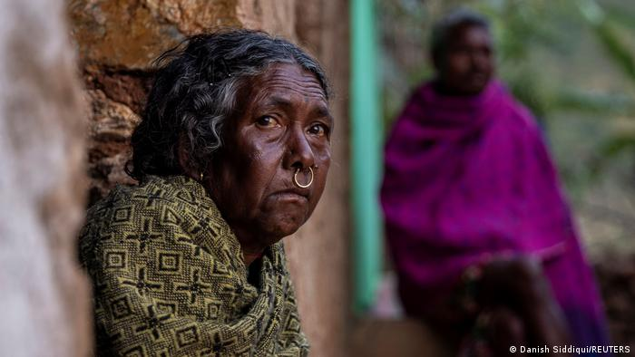 Una mujer india en Koraput, estado de Odisha.