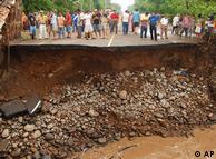 Mayo 2010: el huracán Agatha se ensaña en la región