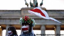 Акция по поддержке белорусов в Берлине