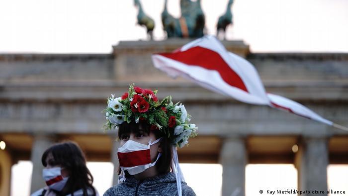 белорусские активисты в Берлине