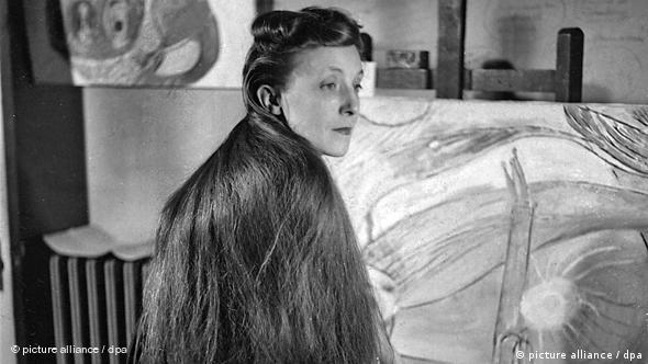 Louise Bourgeois 1946 in New York (Foto: www.bourgeoisstudio.com)