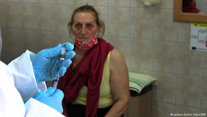 Cijepljenje u Domu zdravlja u Kuršumliji