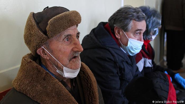 Miodrag Kostić (92) čeka na vakcinaciju
