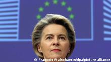 European Commission chief Ursula von der Leyen