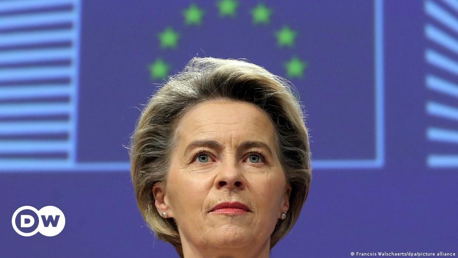 EU could block more vaccine exports, von der Leyen warns