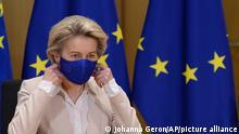 Belgien Brüssel | EU-Kommissionschefin Ursula von der Leyen