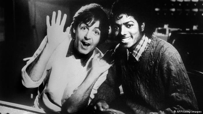 Paul McCartney und Michael Jackson