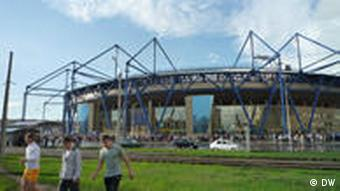 Finished football stadium in Charkow