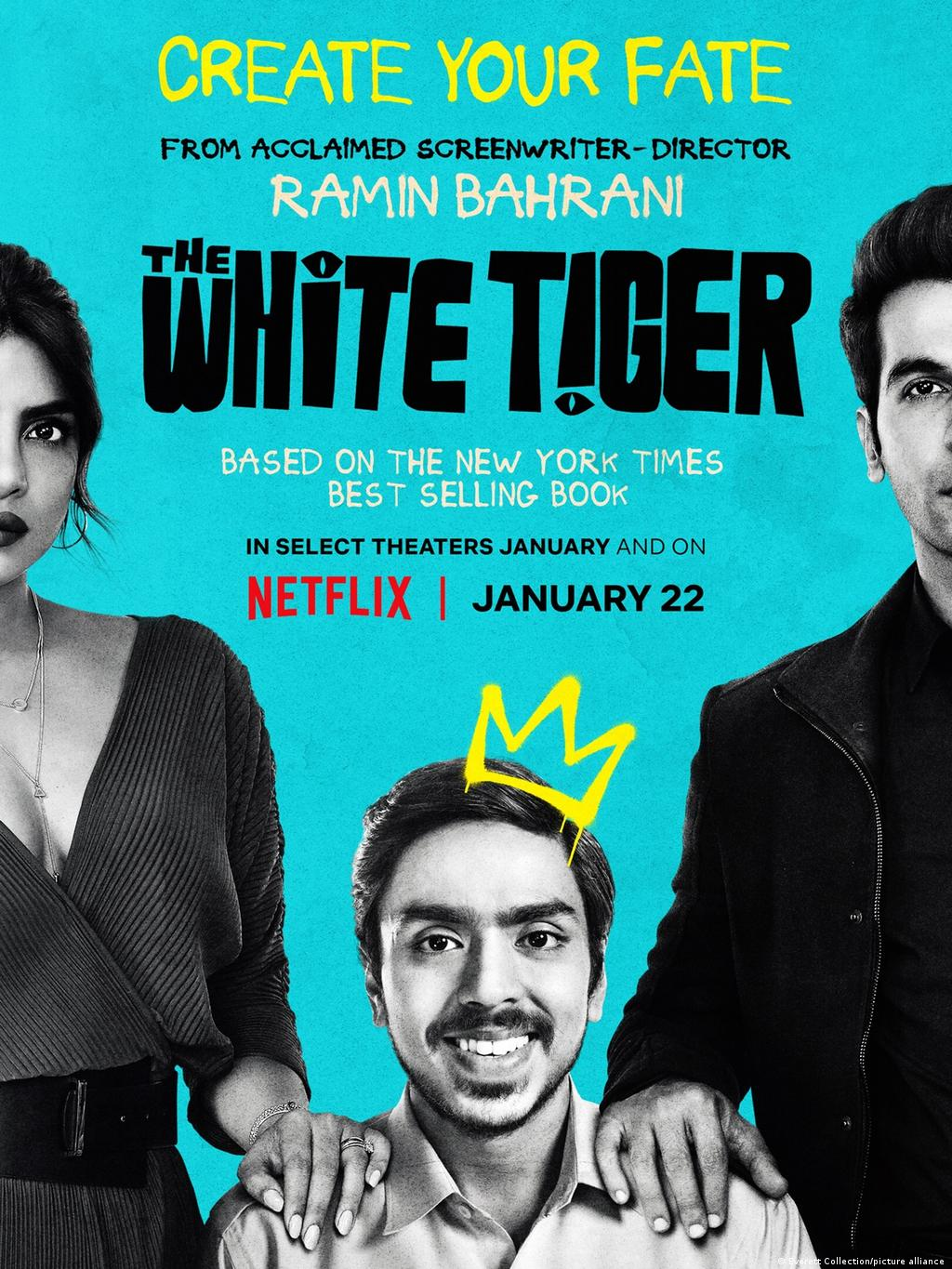 The White Tiger′ Social message or worn out stereotypes   Film ...