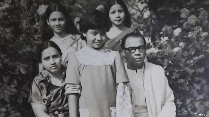 এ এইচ এম কামরুজ্জামান ও তার পরিবার