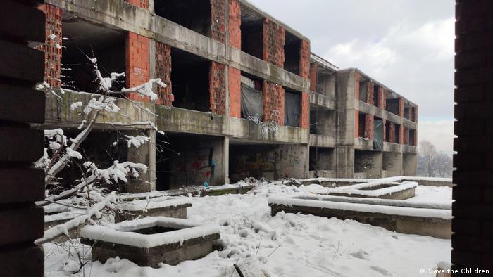 Napuštena tvornička zgrada u Bihaću