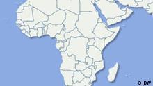 Karte Afrika. DW-Grafik: Per Sander 2010_06_01_afrika.psd