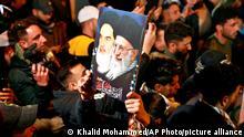 Irak PMF Anhänger Schiiten