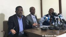 Three Ethiopian politicians whose party was banned by the National Electoral Board a month ago have formed a coalition. The parties strongly argue the need for a transitional government as a pillar of the country's unity. As a coalition party, they want to come up with a strong competent political party for the upcoming 2021 election. via Azeb-Tadesse Hahn