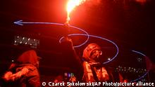 Polen Proteste gegen Anti-Abtreibungsgesetze