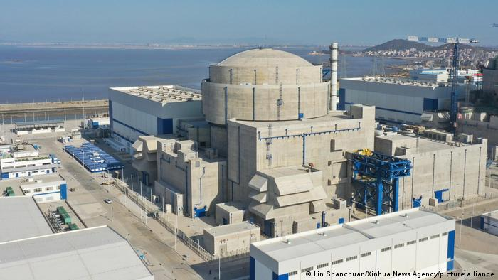 China'a new nuclear power plant Hualong One