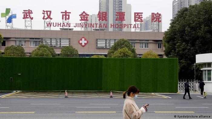 China | Coronavirus |WHO Experten in Wuhan | Jinyintan Hospital