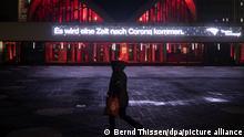 Deutschland Corona-Pandemie Dortmund   Oper Es wird eine Zeit nach Corona kommen