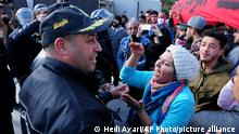 Tunesien | Proteste vor dem Parlament in Tunis
