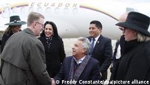 Lenin Moreno | Präsident von Ecuador Moreno in den USA