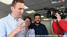Russland Alexei Navalny Kira Yarmysh Leonid Wolkow
