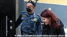 Russland Moskau Kira Yarmysh Sprecherin Alexei Navalny