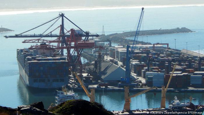 Mexiko Containerhafen CPTPP Freihandelszone Symbolbild