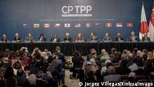 Chile Santiago CPTPP Vertragsunterzeichnung