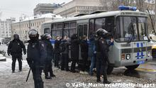 Russland | Proteste Opposition | Nawalny Anhänger | Moskau