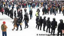 Russland | Proteste Opposition | Nawalny Anhänger