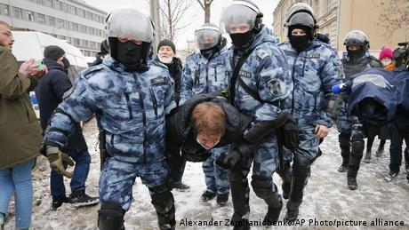 Затримання учасників акцій протесту в Москві
