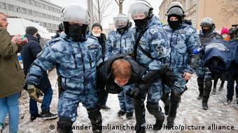 Так выглядят задержания в центре Москвы